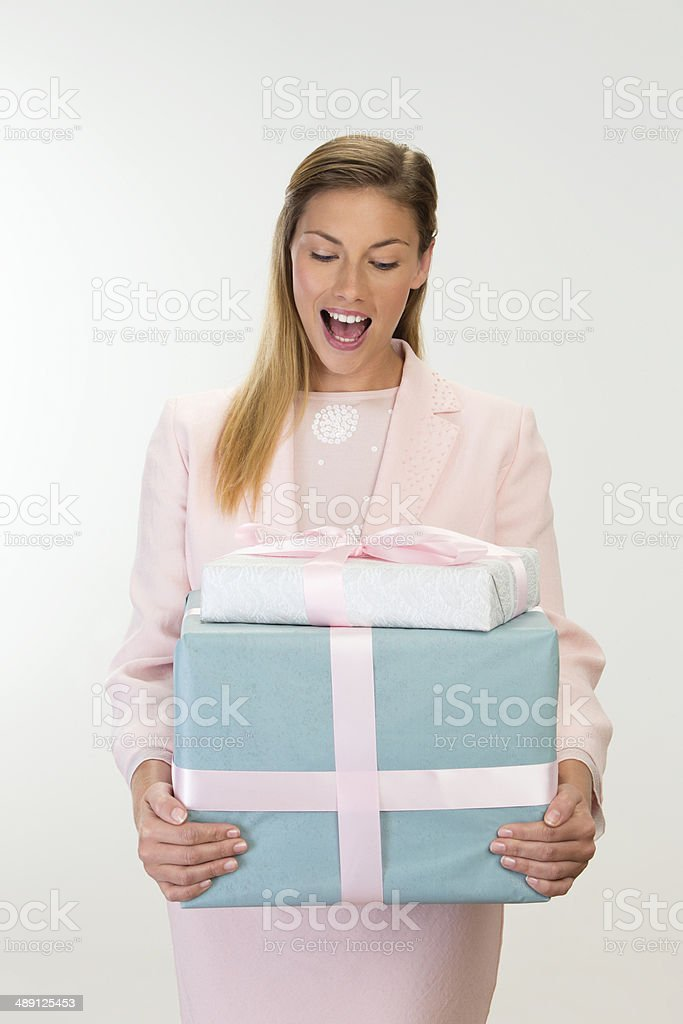 Birthday Surprise royalty-free stock photo