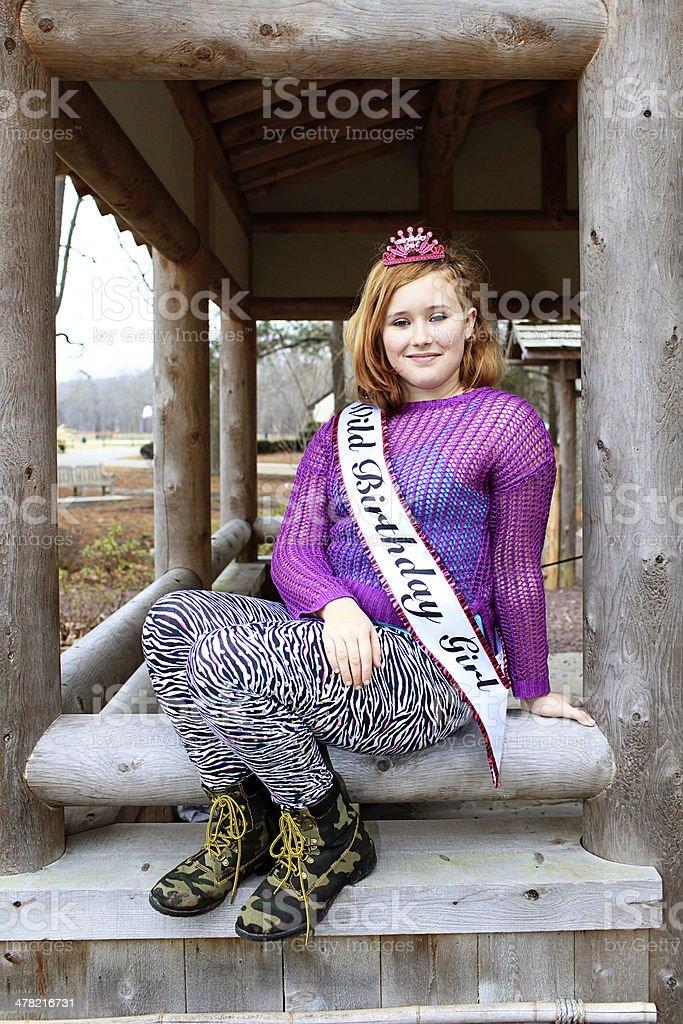 Birthday Teen stock photo