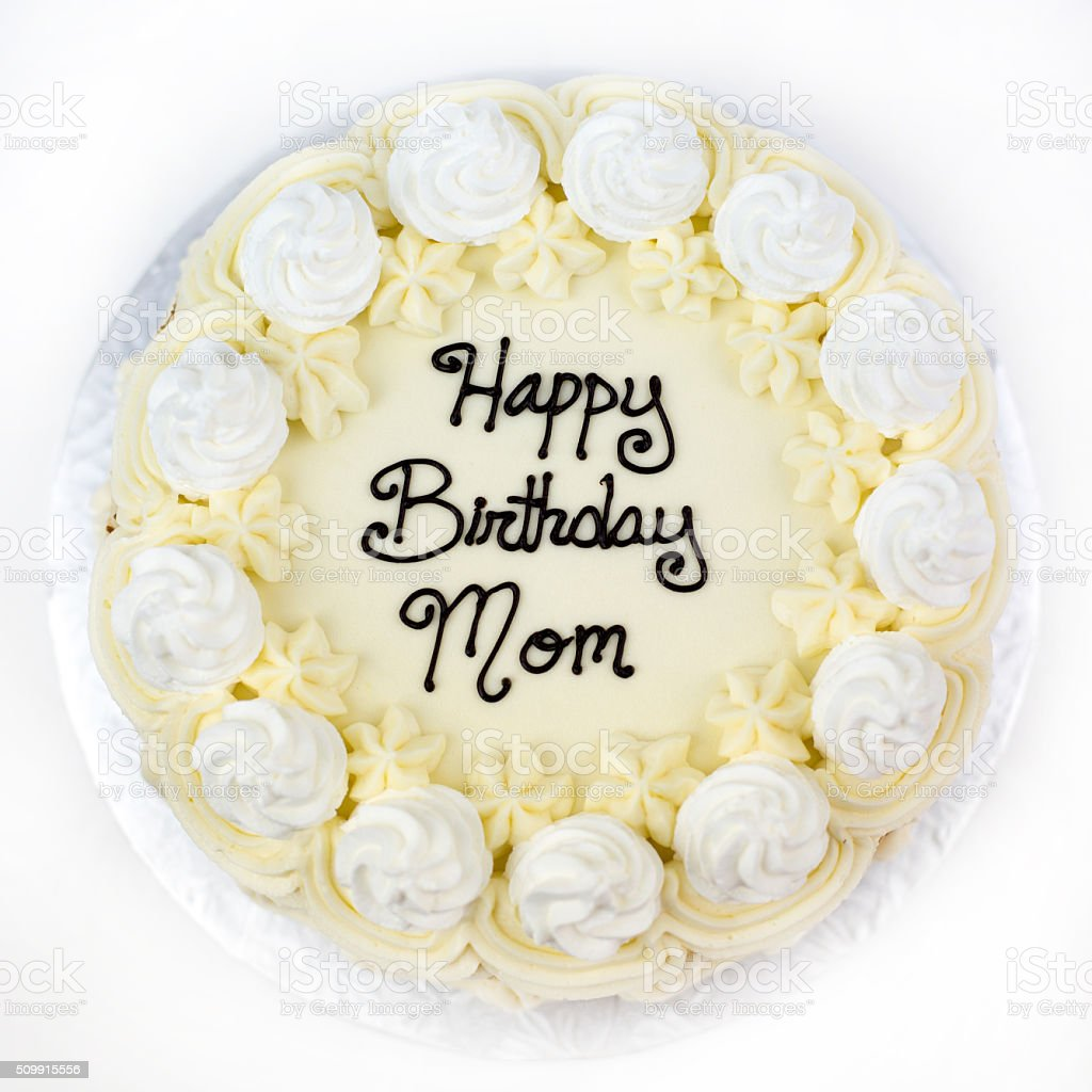 Birthday Vegan Cake stock photo