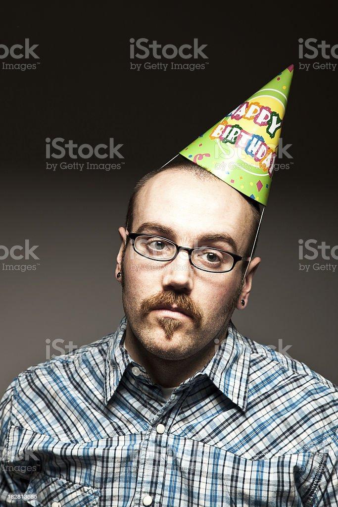 Birthday. Yippee. stock photo