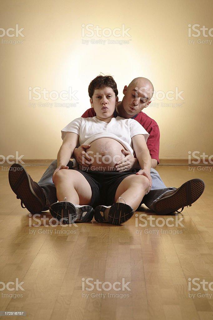 Birthing Class stock photo