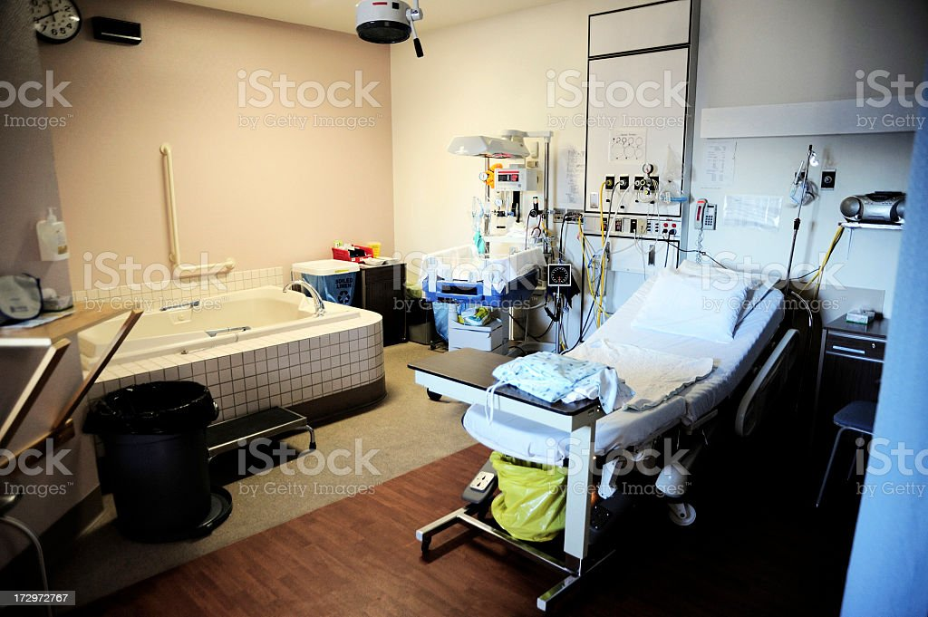 Birthing Room stock photo