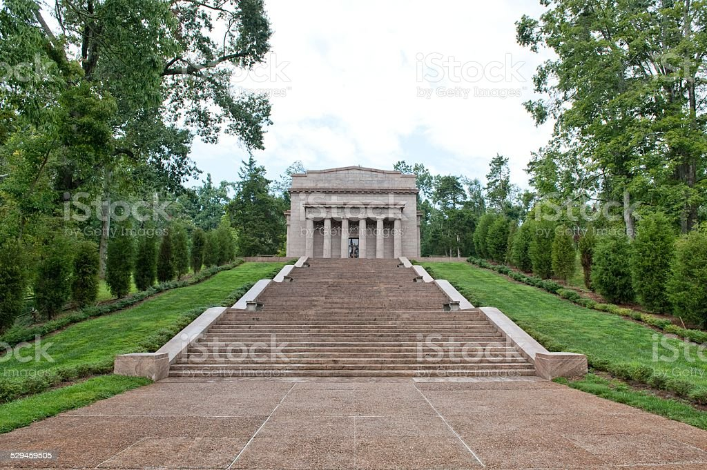 Birthplace of Abraham Lincoln stock photo