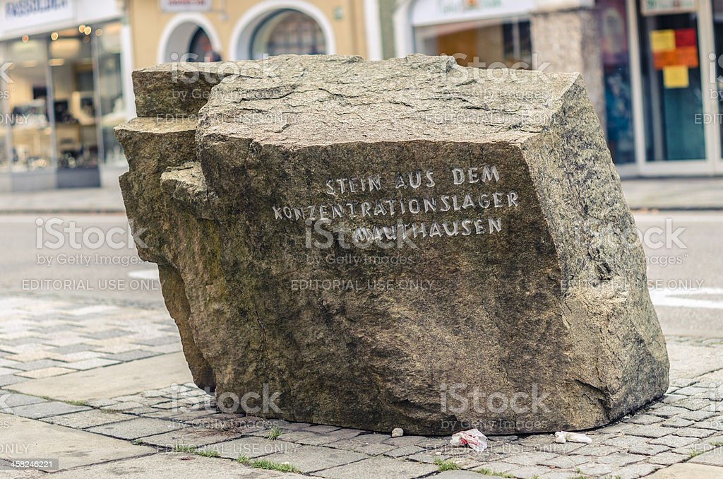 Birthplace of Adolf Hitler stock photo