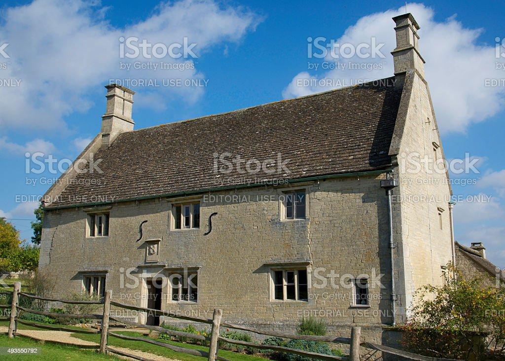 Birthplace of Sir Isaac Newton stock photo