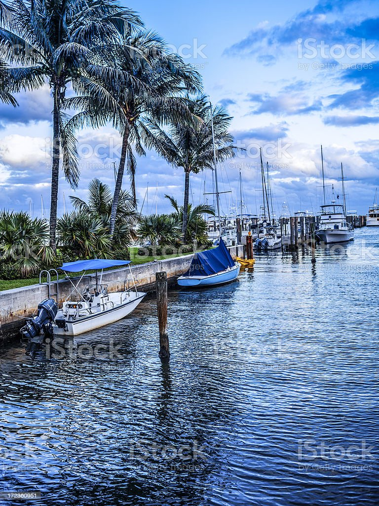 Biscayne Bay stock photo