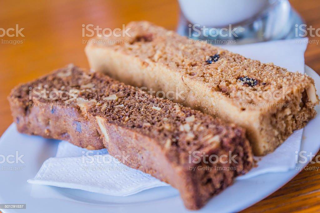 Biscotti Biscuits stock photo