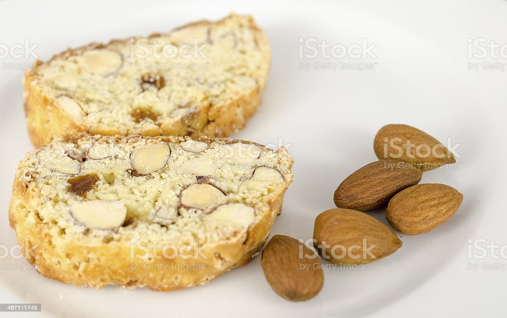 Biscotti cookies royalty-free stock photo