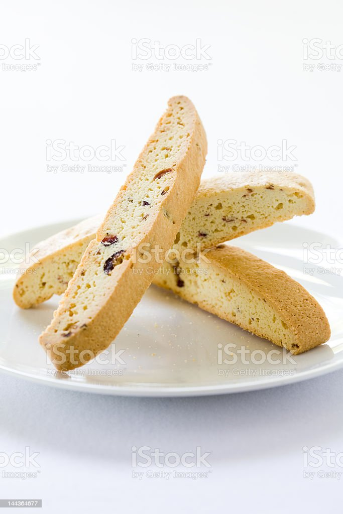 Biscotti Cranberry royalty-free stock photo