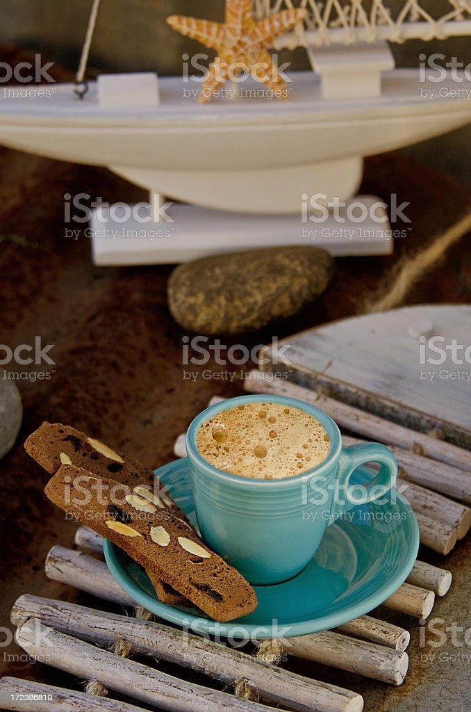 Biscotti Espresso stock photo