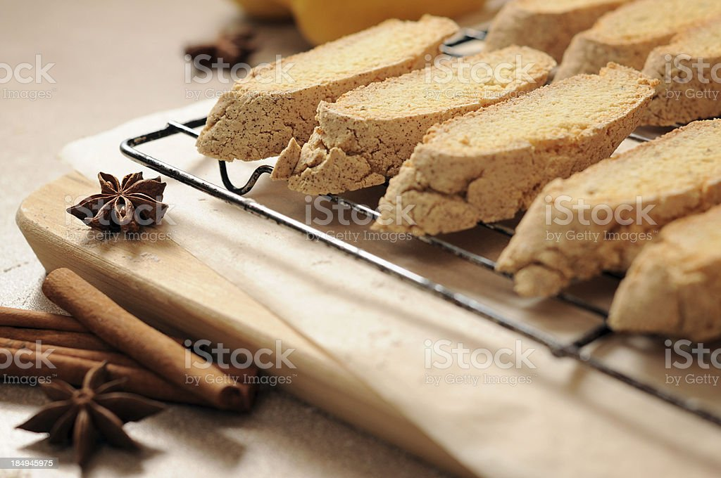 Biscotti, Italian Cookies royalty-free stock photo