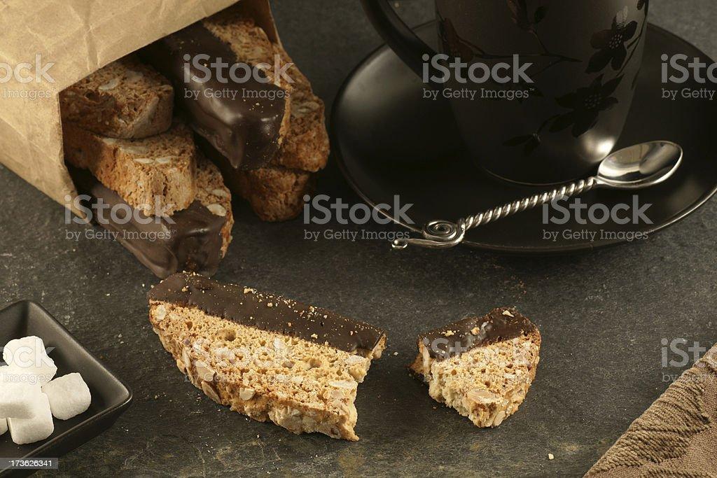 Biscotti royalty-free stock photo