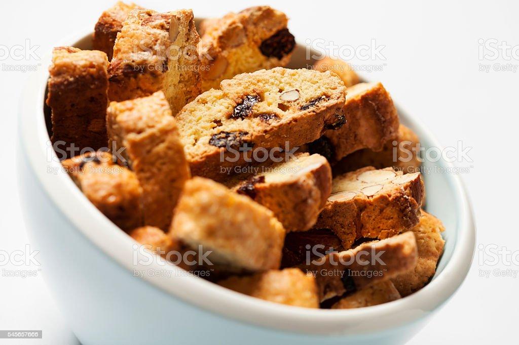 Biscotti stock photo