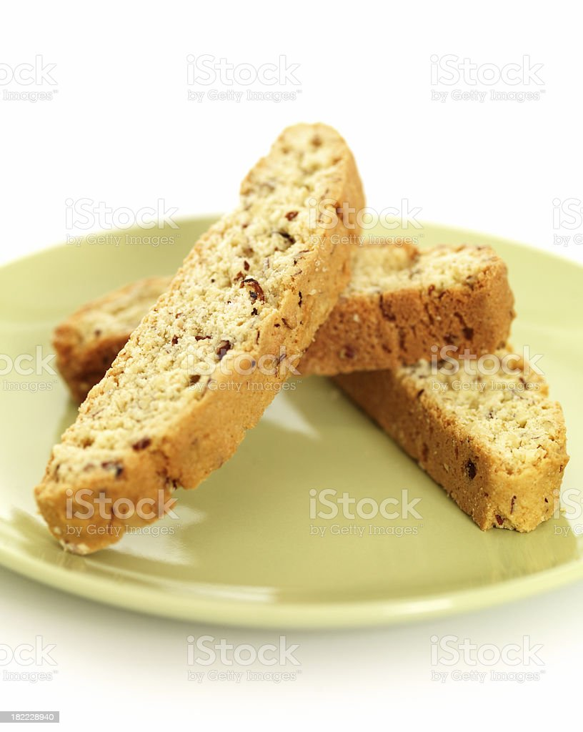 Biscottis royalty-free stock photo