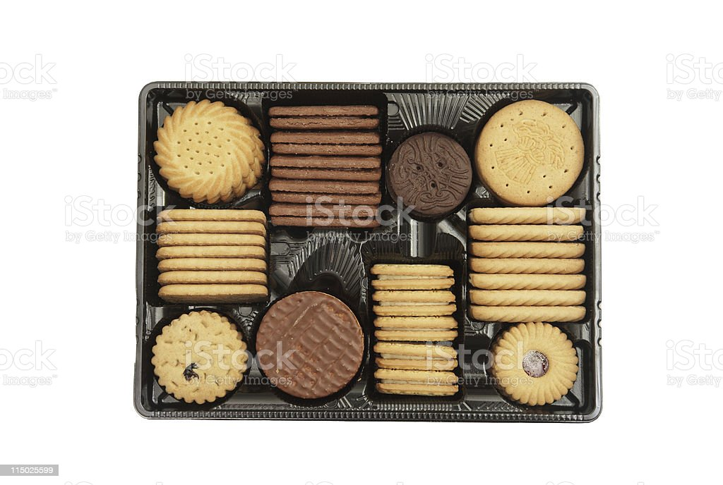 Biscuit Assortment royalty-free stock photo
