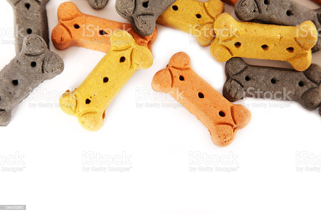 Biscuit Border stock photo