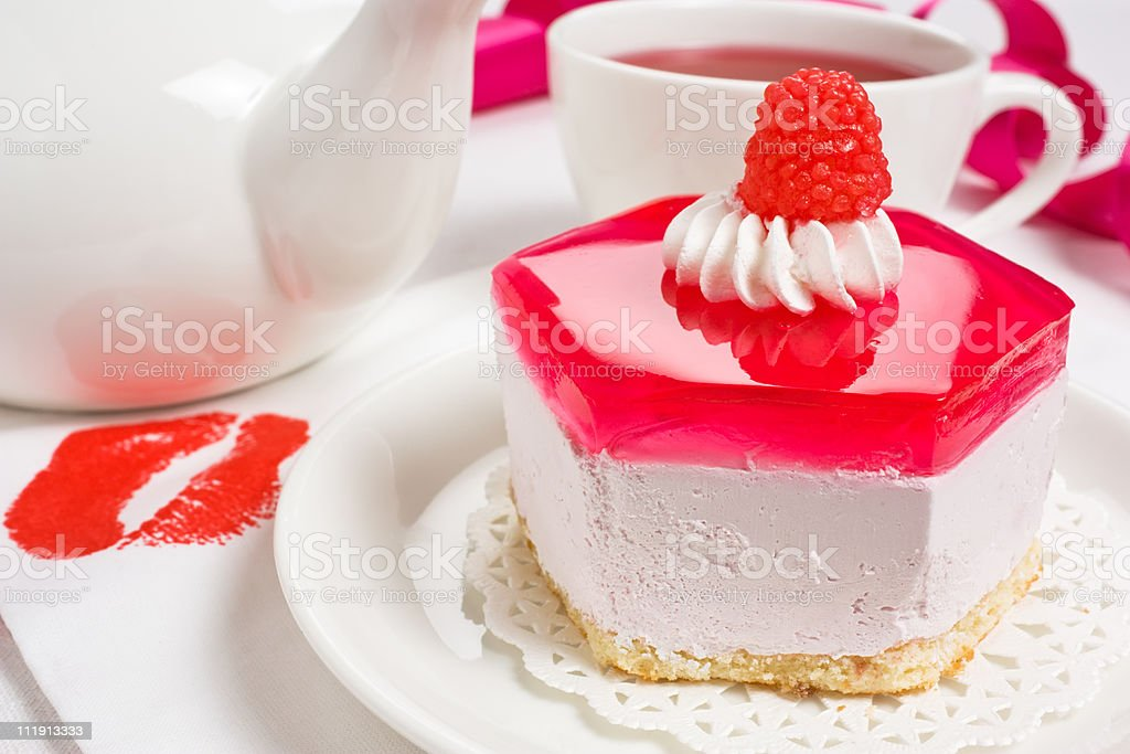 Biscuit cake royalty-free stock photo