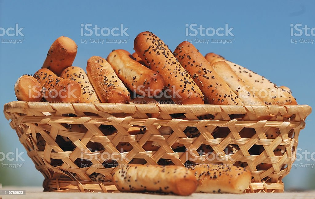 Biscuit cookies royalty-free stock photo
