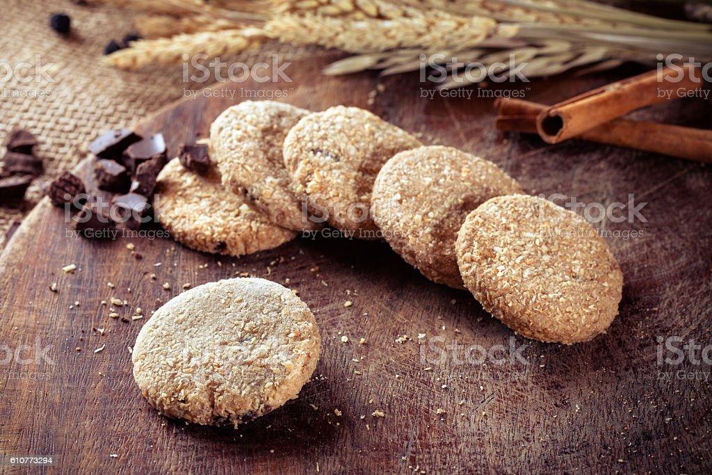 Biscuit Cookies stock photo