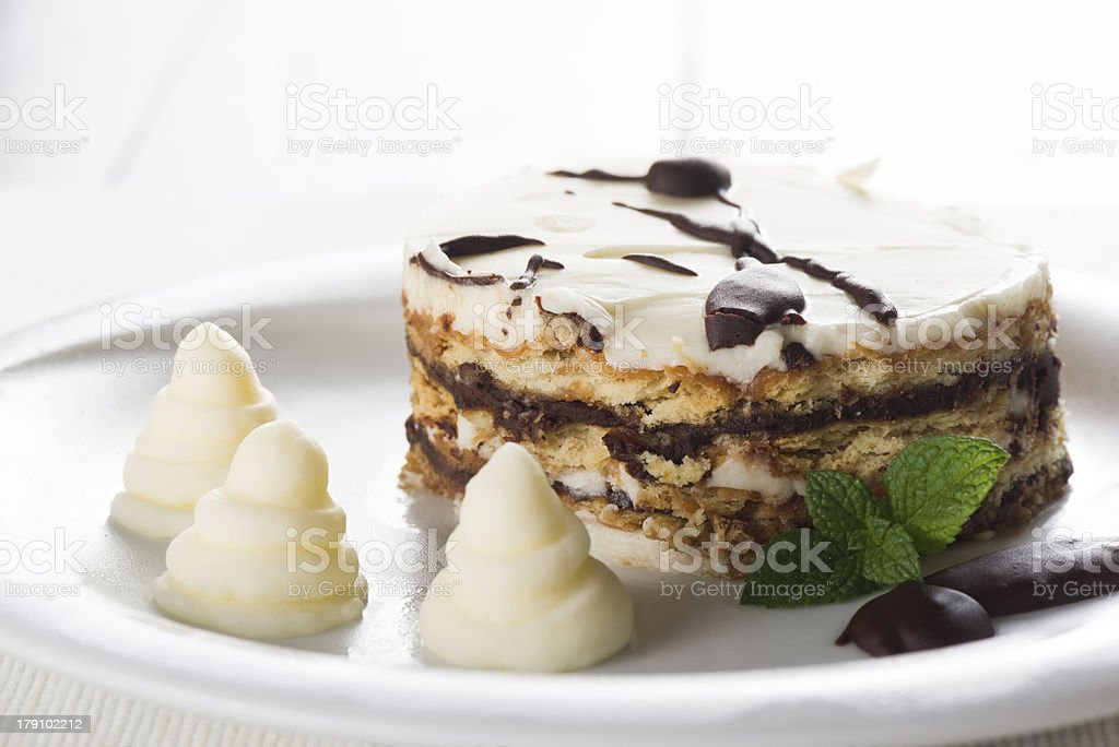 Biscuits cake royalty-free stock photo