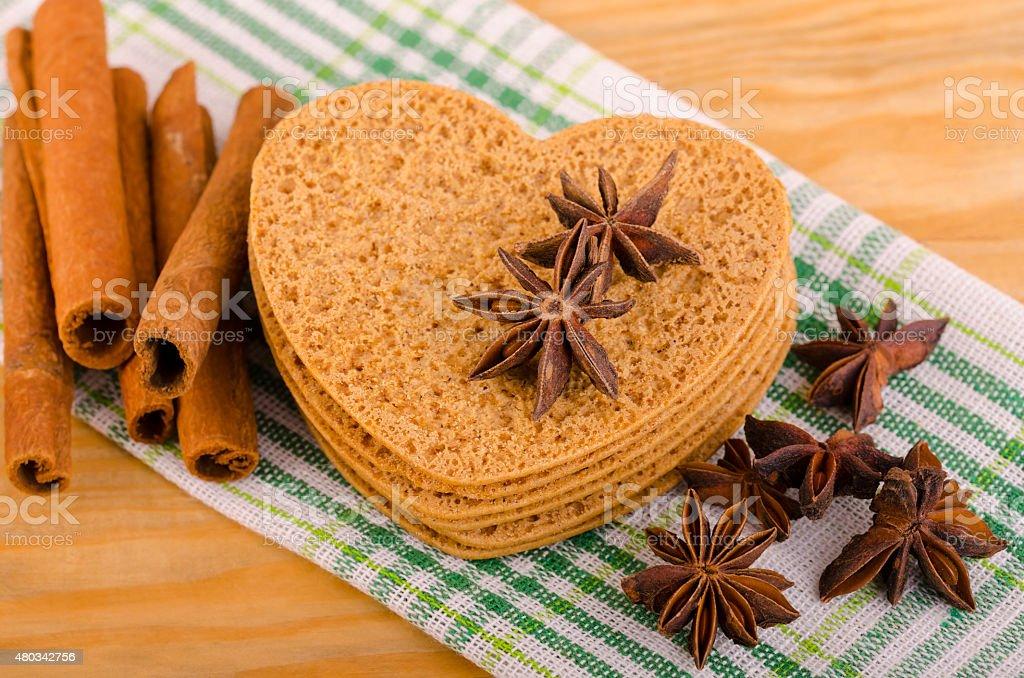 Biscuits con especias foto de stock libre de derechos