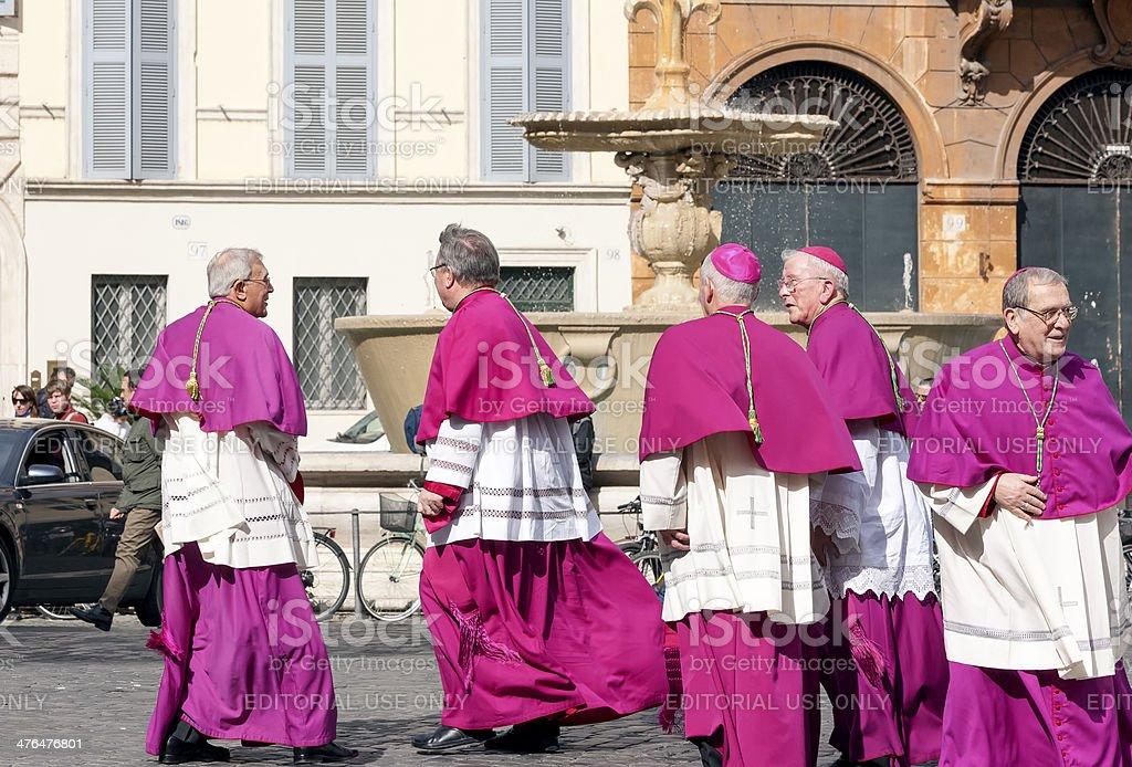 Bishops stock photo
