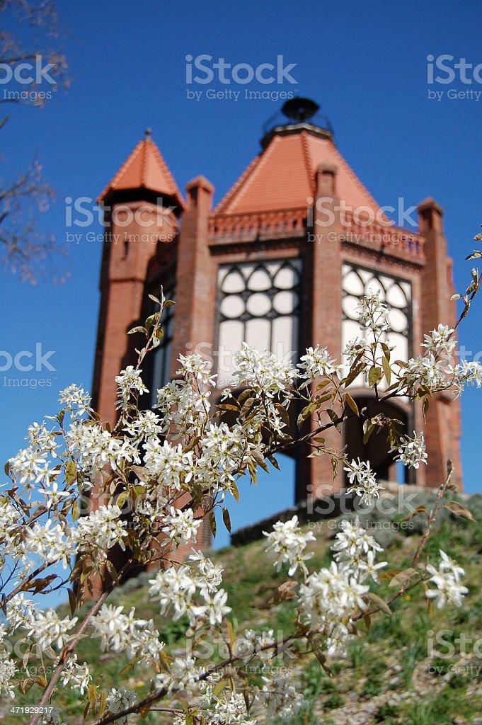 Bismarkturm in Rathenow (Germany) stock photo
