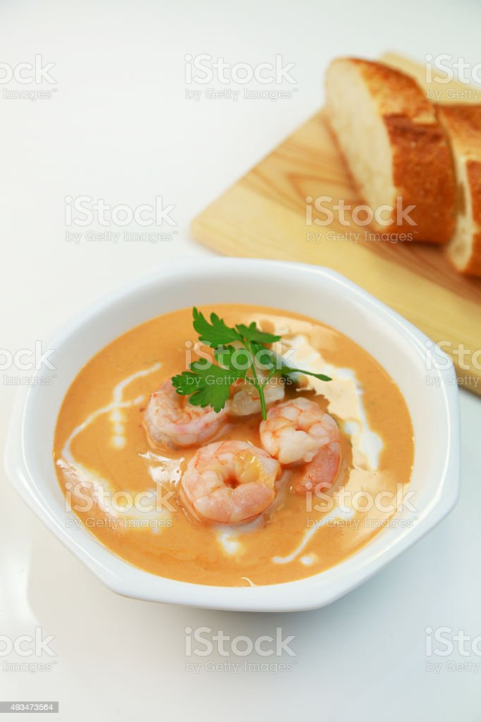 Bisque stock photo