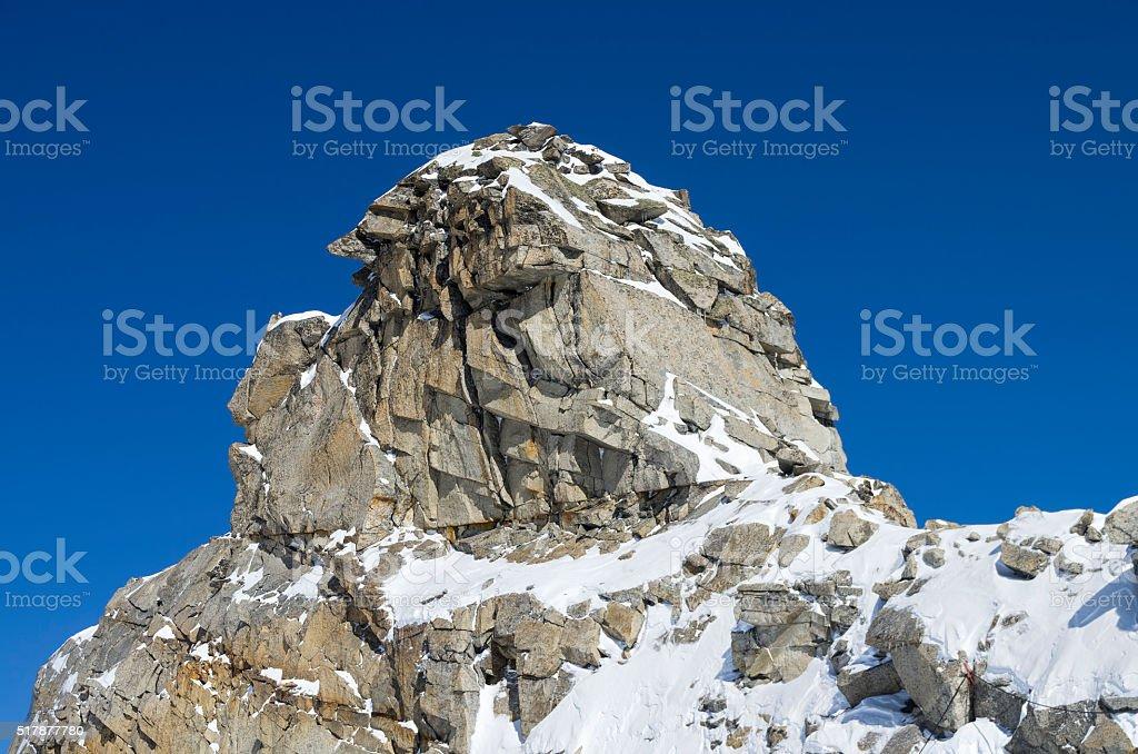 Bissare rock. stock photo