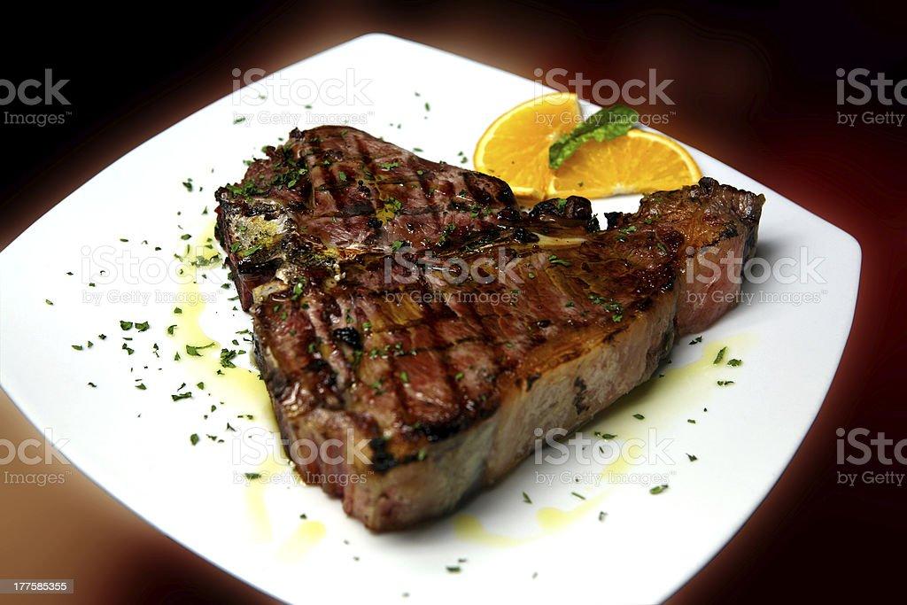 bistecca stock photo