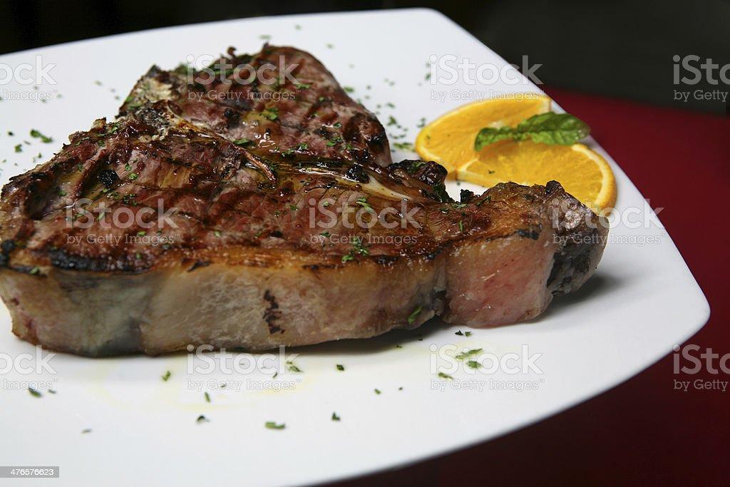 bistecca royalty-free stock photo