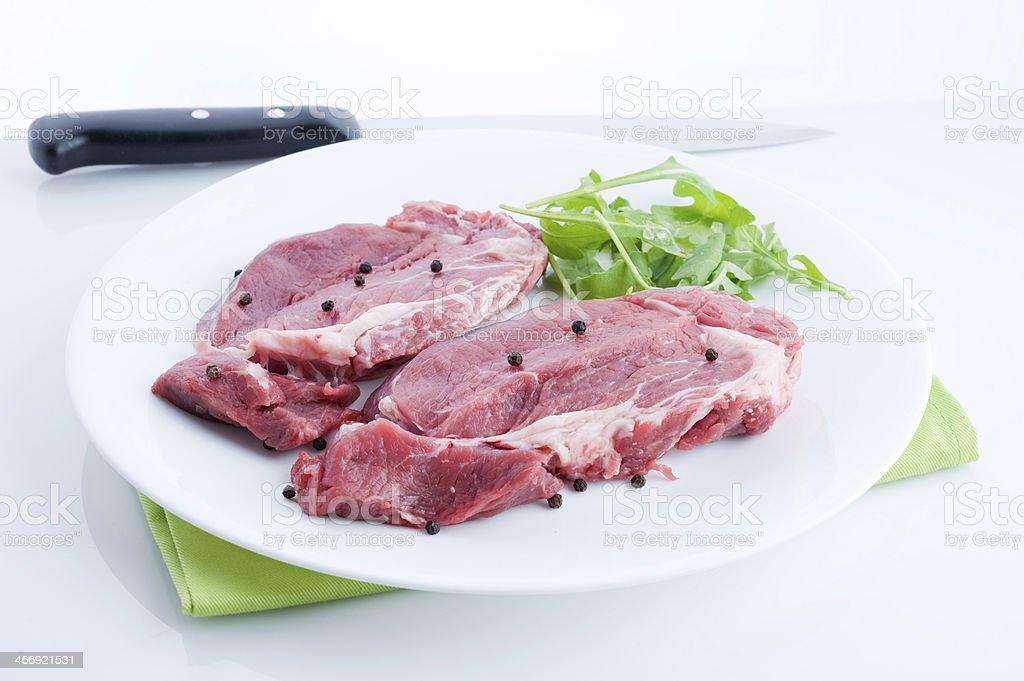 bistecche fresche royalty-free stock photo
