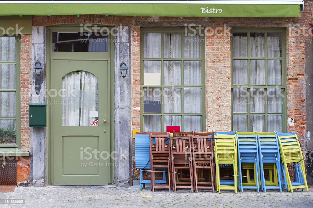 Bistro, Restaurant royalty-free stock photo
