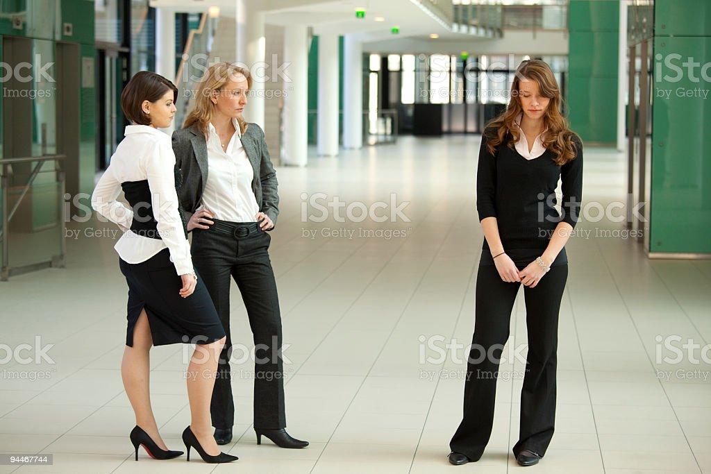 bitchy businesswomen royalty-free stock photo