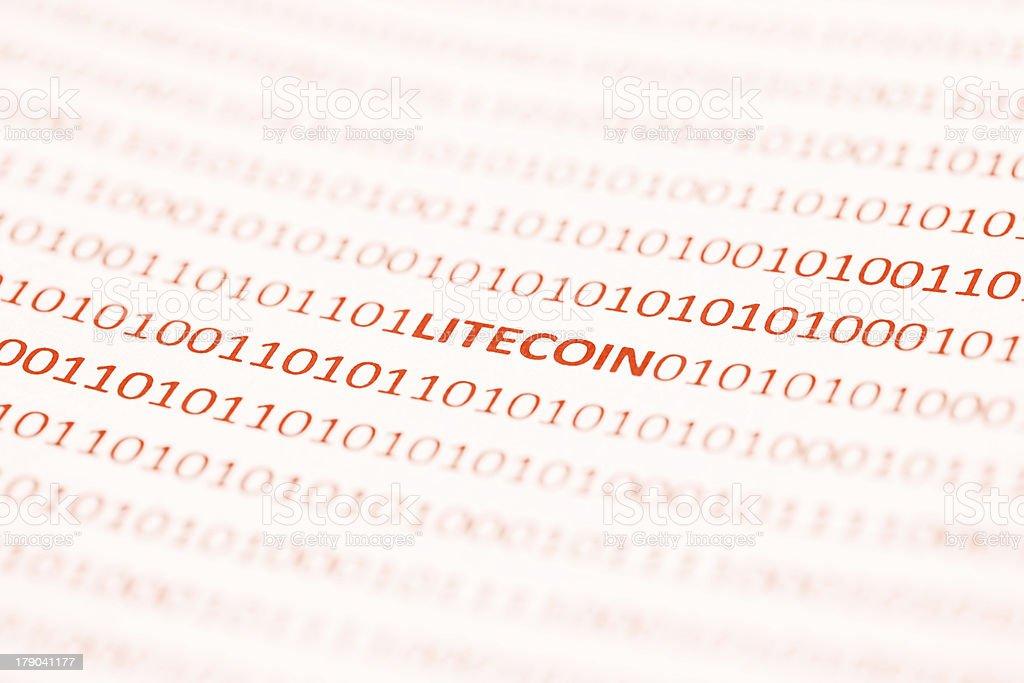 Bitcoin Devcoin Namecoin Terracoin Livecoin royalty-free stock photo