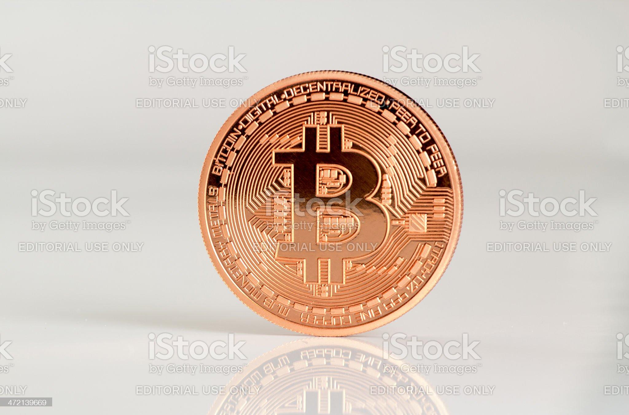 Bitcoins royalty-free stock photo