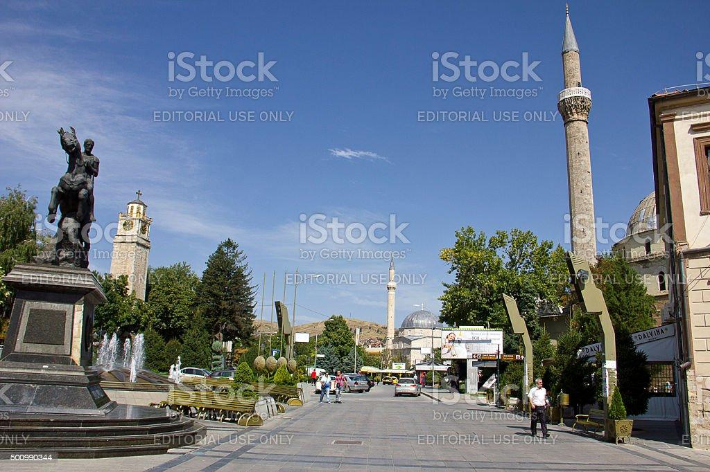 Bitola City stock photo