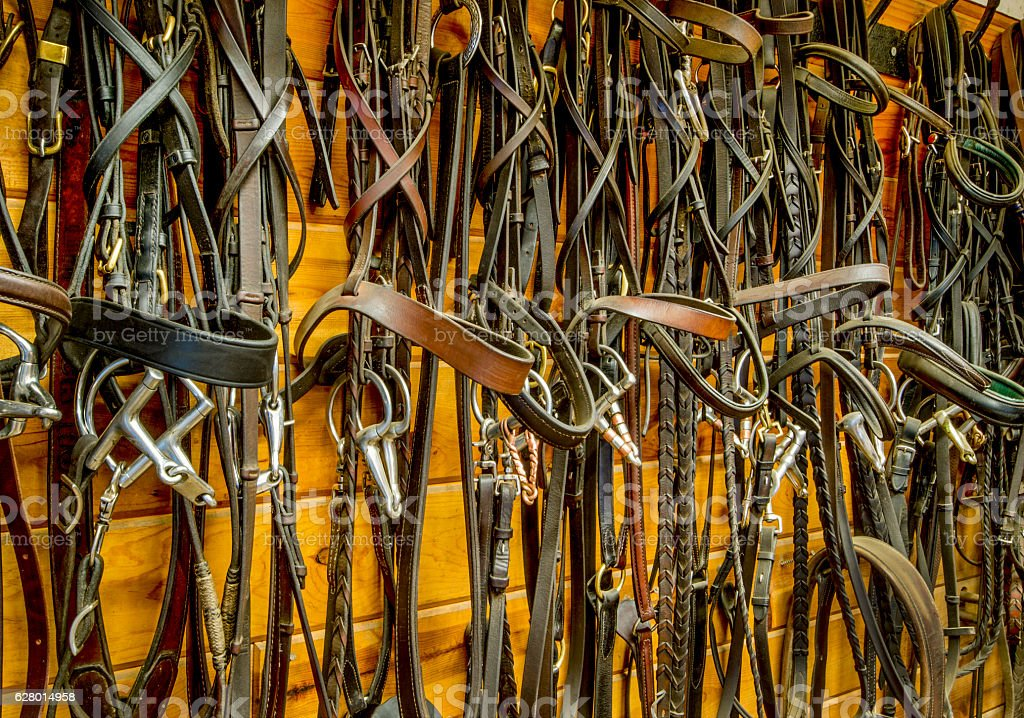 Bits and Bridles stock photo