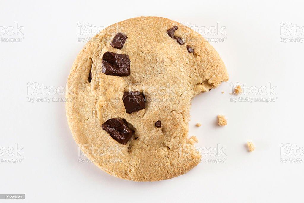 Bitten Cookie stock photo