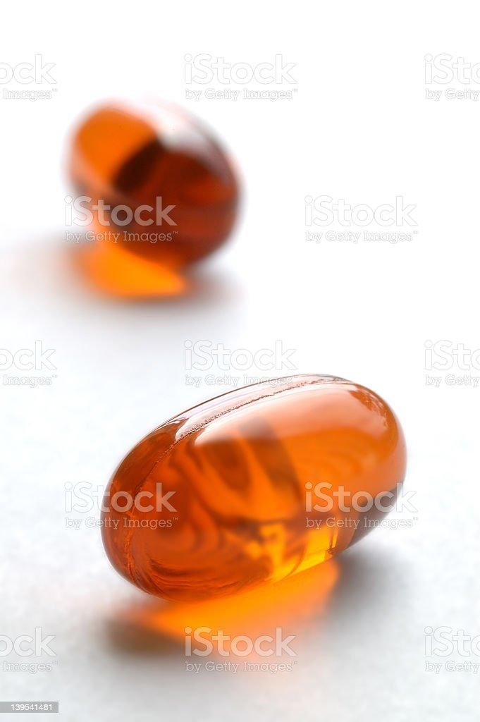 Bitter medicine stock photo