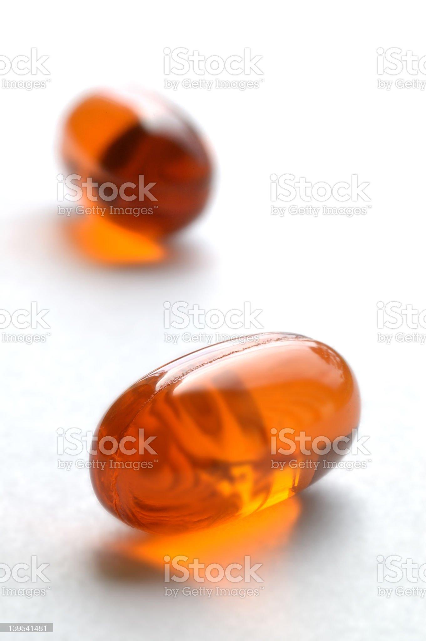 Bitter medicine royalty-free stock photo