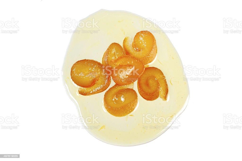 Bitter orange Jam stock photo