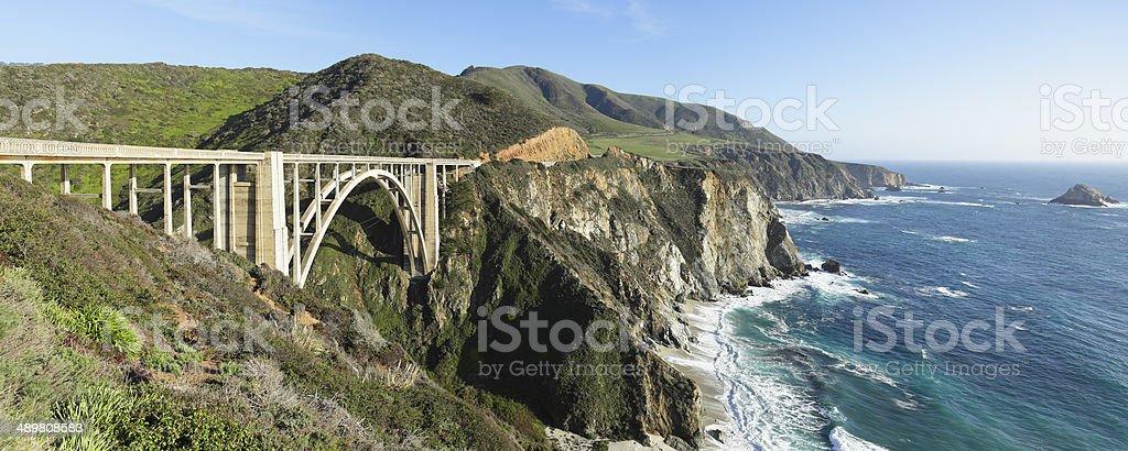 Bixby Bridge - Big Sur stock photo