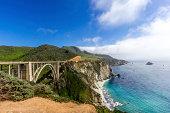 Bixby Bridge on the California Coastline