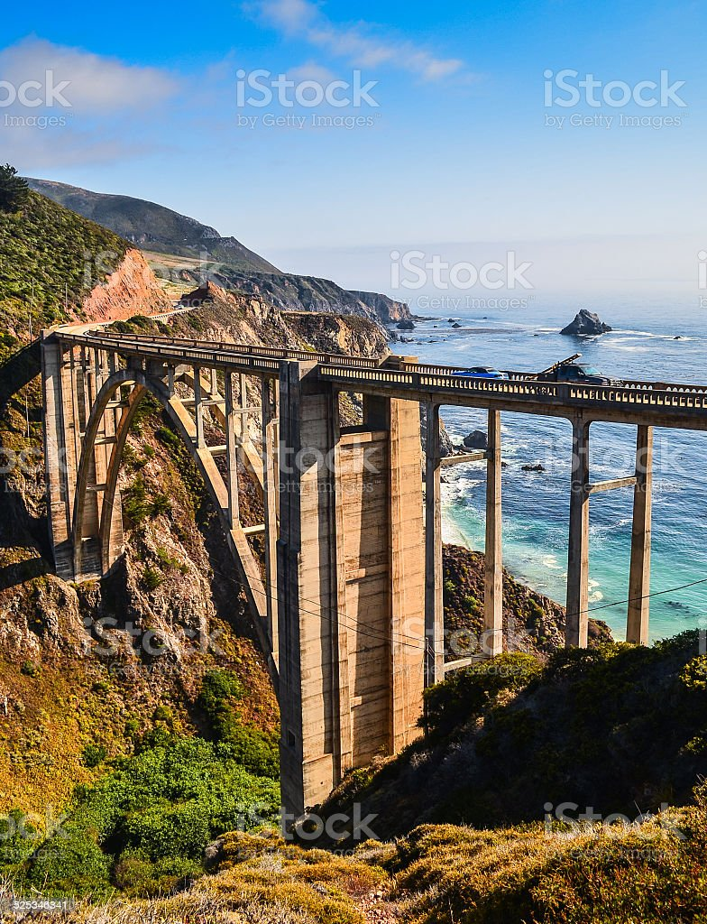 bixby bridge stock photo
