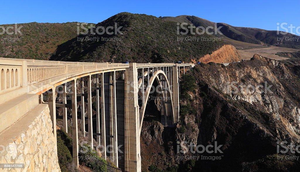 Bixby Bridge stock photo