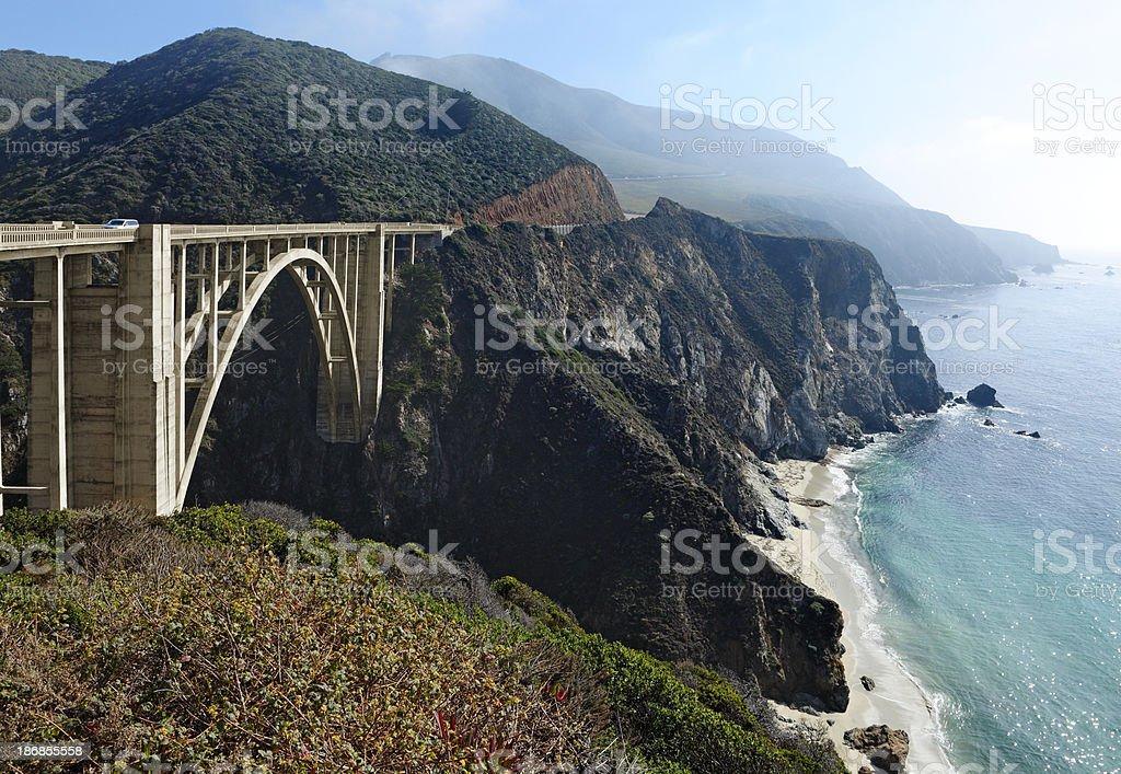 Bixby Creek Bridge royalty-free stock photo