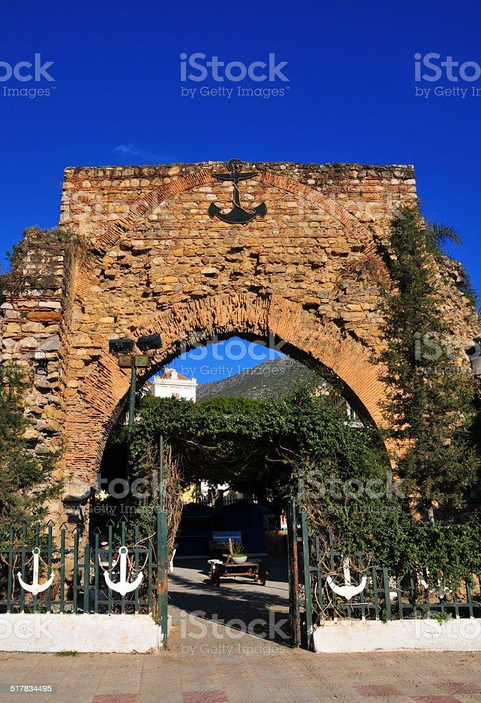 B?ja?a, Algeria: the Sea Gate stock photo