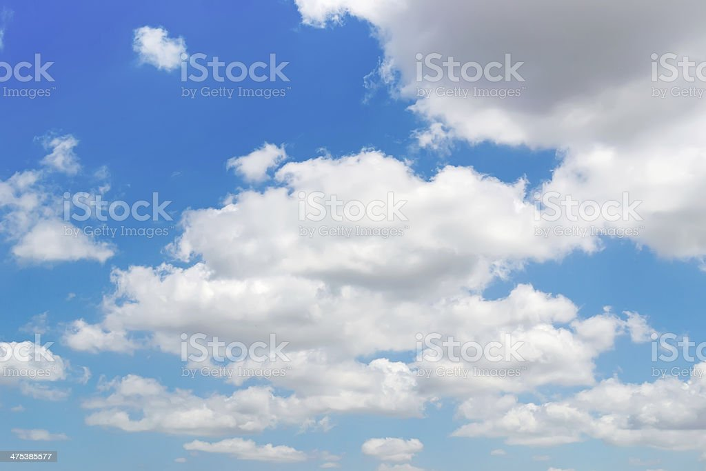 bkue sky n clouds royalty-free stock photo