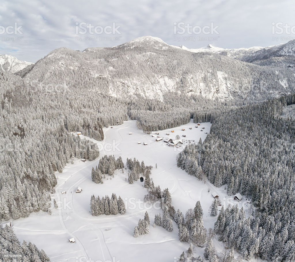 Blaa-Alm, Ausseerland, Styria, Austria, Austrian Alps stock photo
